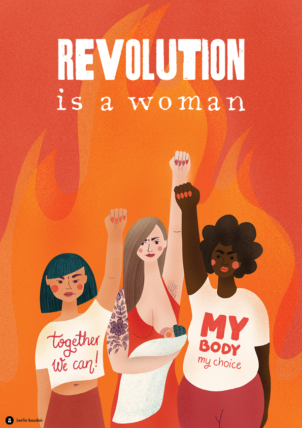 Revolution is a woman